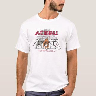 T-shirt Les races de Taureau de ville d'Alamo ont uni