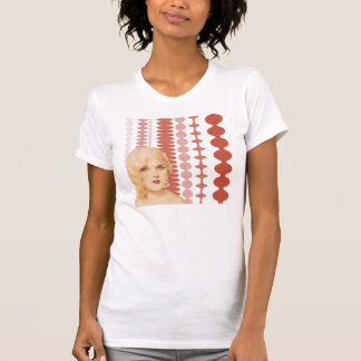 T-shirt Les rétros années 1930 de pin-up