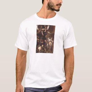T-shirt Les sept travaux de la pitié par Caravaggio