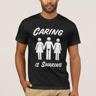T-shirt Les soins partagent