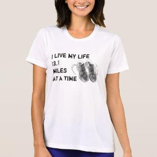 T-shirt Les solides solubles Wicking - la vie des dames