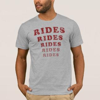 T-shirt Les tours patinés monte des tours de tours de