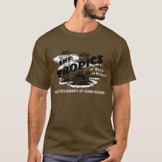 T-shirt Les tropiques