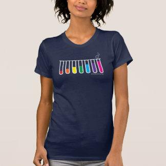 T-shirt Les tubes à essai glorifient le drapeau - -