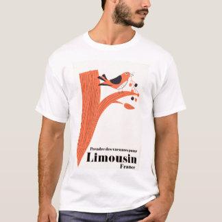 T-shirt Les vacances de DES de Prendre versent le Limousin