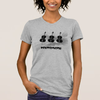 T-shirt Les violoncellistes représentent !