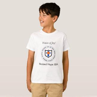 T-shirt Les voix bénies d'espoir de la joie