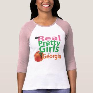 T-shirt les vraies JOLIES FILLES de la Géorgie