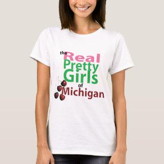 T-shirt les vraies JOLIES FILLES du Michigan
