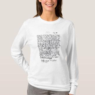 T-shirt Lettre de Mozart à son père, le 5 avril