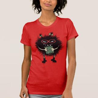 T-shirt L'étudiant mauvais nerd d'insecte aime lire