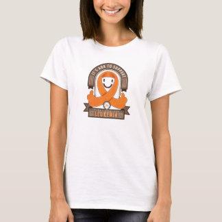 T-shirt Leucémie - c'est rétro ruban de charité d'AOK -