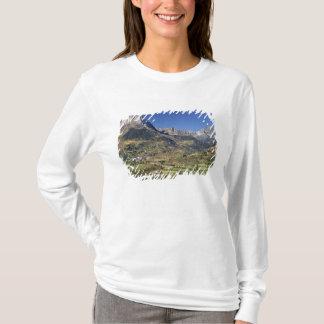 T-shirt L'Europe, Espagne, Sallent de Gallego. Un petit