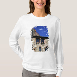 T-shirt L'Europe, Italie, Ombrie, Chianti, Montebenichi.