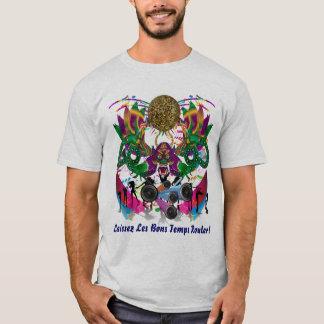 T-shirt L'événement de carnaval de mardi gras regardent