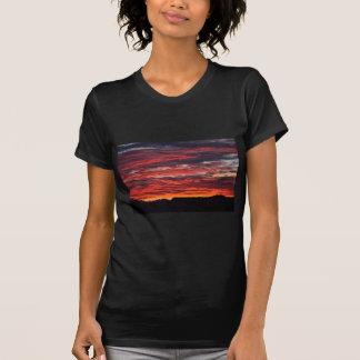 T-shirt lever de soleil de désert