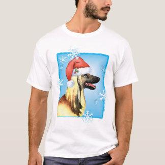 T-shirt Lévrier afghan heureux de Howliday