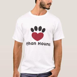 T-shirt Lévriers afghans d'amour