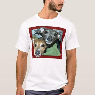 T-shirt Lévriers miniatures