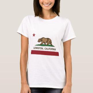 T-shirt lewiston de drapeau de la Californie