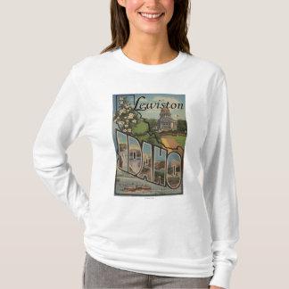 T-shirt Lewiston, Idaho - grandes scènes de lettre