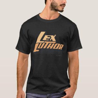 T-shirt Lex Luther - deux lignes
