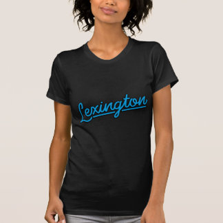 T-shirt Lexington dans cyan