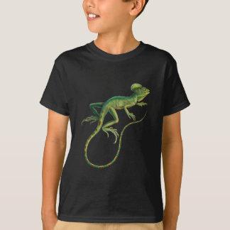 T-shirt Lézard vert