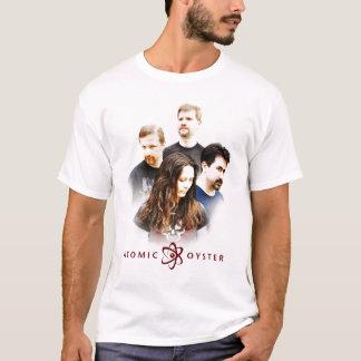 """T-shirt L'huître atomique """"fait face"""" à la chemise"""