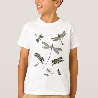 T-shirt Libellules vintages