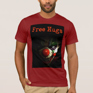 T-shirt Libérez les étreintes - clown mauvais