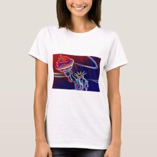 T-shirt liberté au néon