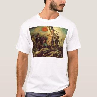 T-shirt Liberté menant les personnes