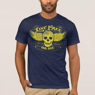 T-shirt Libres vivants ou meurent chemise