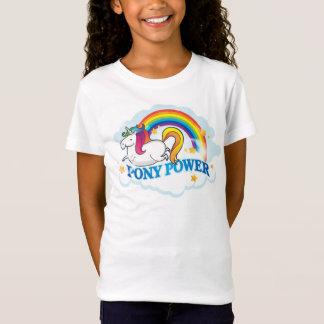 T-Shirt Licorne de puissance de poney