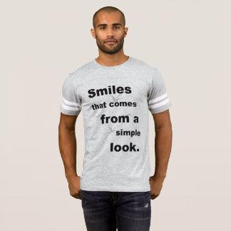 T-shirt Ligne Smile
