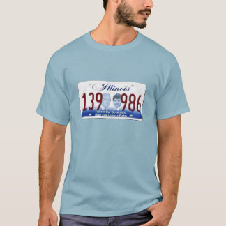 T-shirt L'Illinois - où nos Gouverneurs font nos plats de