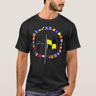 T-shirt Lima que vous devriez vous arrêter. Drapeau de