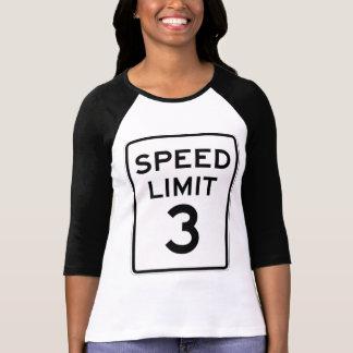 T-shirt Limite à basse vitesse