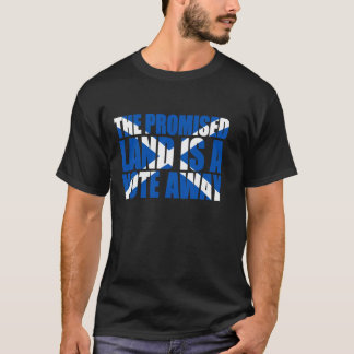 T-shirt L'indépendance écossaise : La terre promise,