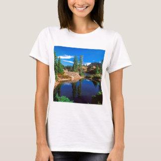 T-shirt L'indigo de parc rêve des lacs Wenatchee rampart