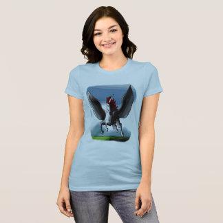 T-shirt L'industrie graphique de Pegasus de licorne unique