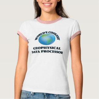 T-shirt L'informaticien géophysique le plus frais du monde