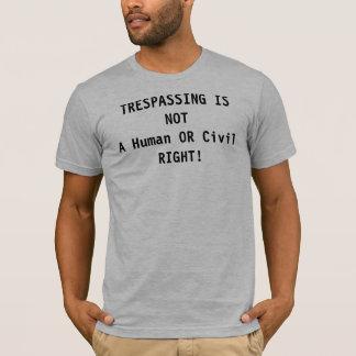T-shirt L'infraction n'est pas un juste !
