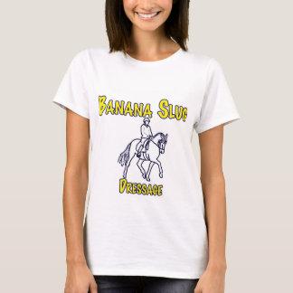 T-shirt Lingot de banane Dressage-blanc