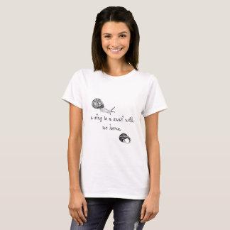 T-shirt lingots et chemise d'escargots