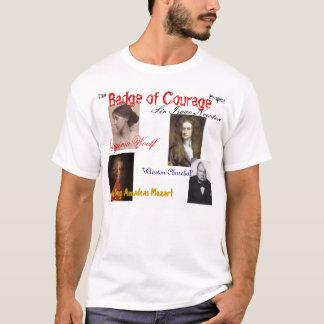 T-shirt l'insigne du projet de courage