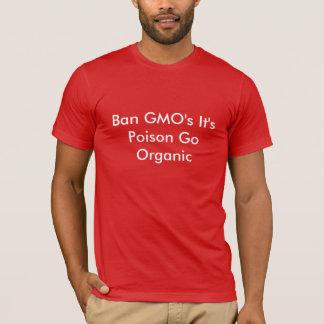 T-shirt L'interdiction OGM c'est poison