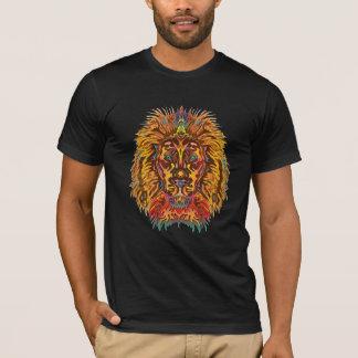 T-shirt Lion coloré