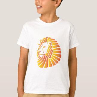 T-shirt Lion de coucher du soleil